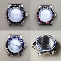 Edelstahl Uhrengehäuse für Seiko NH35 NH36 Uhrwerk Watch Case Sapphire 39,5 MM
