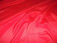 Red Polyester Crepe Fabric ROLL