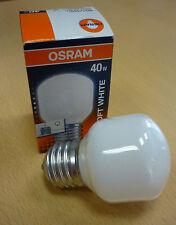 OSRAM Glühlampe BELLALUX SOFT WHITE E27 40W opal Glühbirne BELLA T45 SIL 40