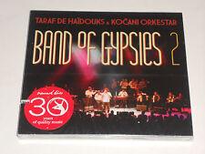 BAND OF GYPSIES 2 CD New in shrink sealed TARAF DE HAIDOUKS Kocani Orkestar