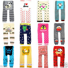 Cute Knitted Cotton Leggings Tight Pants for Baby Toddler Kid Boy Girl 6-36Month