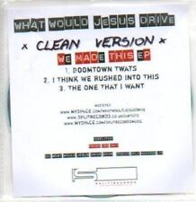 (379H) What Would Jesus Drive, We Made This EP - DJ CD