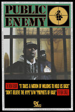 Public Enemy * It Takes a Nation of Millions to Hold Us Back * Poster 1988