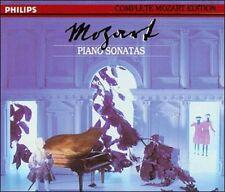 Mozart: Piano Sonatas (CD, Apr-1991, 5 Discs, Philips)