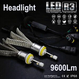 Set Mtec R3 Canbus LED Head Light H11 12v 4800 Lumen The More Powerful