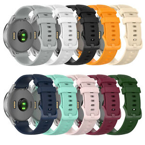 For Garmin Vivoactive 4S/ Vivomove 3S Silicone Strap Watch Band Belt Replace A2U