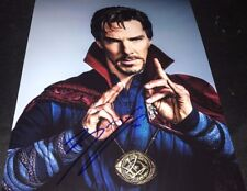 Benedict Cumberbatch Doctor Strange Signed 11x14 Photo COA Proof