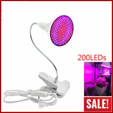 US LED Grow Light 200LED UV IR Growing Lamp for Indoor Plants Hydroponic Plant
