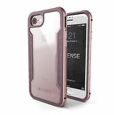 Transparent Metal Fitted Cases for Apple Phones