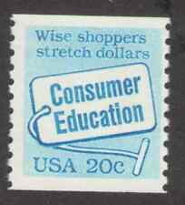 US. 2005. 20c. Consumer Education. Coil Single. MNH. 1982