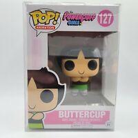 Funko Pop! Animation Cartoon Network Power Puff Girls #127 Buttercup w Protector