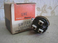 NOS Delco Remy GM Chevrolet CORVETTE IMPALA BEL AIR 2speed WIPER SWITCH 1993543