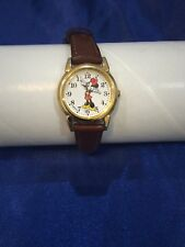 Vintage (C) Disney Minnie Mouse Woman's Watch Preowned