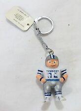 Vintage Dallas cowboys team NFL football lil sports brat key chain 1987