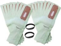 16 Allergy Bags for Oreck XL XL2 XL21 Upright Vacuum Type CC W/ 2 BELTS !!
