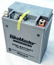 AGM Platinum II Battery BikeMaster HTX14AHL-FA Replaces YB14L-A2, 12N14-3A - MC