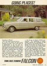 1964 FORD XM FALCON WAGON A3 POSTER AD SALES BROCHURE ADVERTISEMENT ADVERT