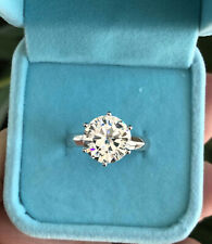 Breathtaking Engagement Wedding Solitaire Ring To Her 2Ct Diamond 14K White Gold