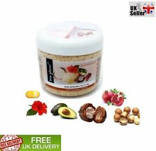 Bio Glow Macadamia Nut Oil Face and Body Scrub With Cocoa Butter Avocado 300ml