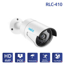 Reolink IP Camera PoE HD 4MP 1440P Security Camera Outdoor CCTV Recorder RLC-410