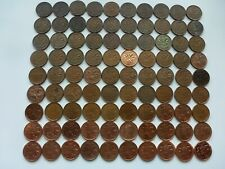 1920 TO 2012 COLLECTION CANADA  OF 90 COINS 1 CENT