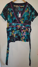 NWT, Multi coloured Tunic top with embroidery by Inspire (New Look), UK size 16