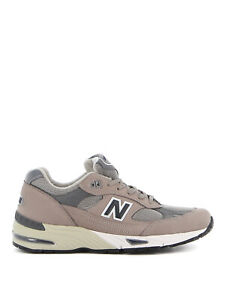 NEW BALANCE Men's Shoes Sneakers Grey Leather NIB Authentic 10 10+ 11 12 8 8+ 9
