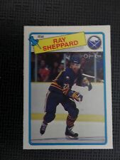 1979-80 Ray Sheppard Rookie Card OPC #55 in near mint condition
