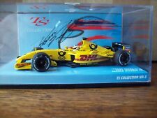 1/43 JORDAN HONDA EJ12 2002 JAPAN GP SUZUKA TAKUMA SATO  SIGNED ON CARD