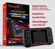 iCarsoft VOL V2.0 für Volvo Saab Diagnose Scanner Öl Service Reset OBD 2 DEUTSCH