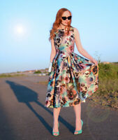 Chi Chi Floral Dress Alyssa SIZE UK8 EUR36 US4