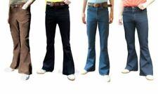 Jeans vintage en velours côtelé pour homme