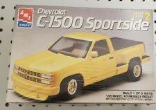 New listing Amt 1/25 3-Way-Build Chevrolet C-1500 Sportside Model Pickup Kit #6082 Sealed