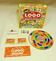 The Logo Board Game - 2nd Edition - COMPLETE - EUC - Spin Master