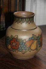 L. Hjorth Danish Art Deco Fruit Vase - 20cm tall
