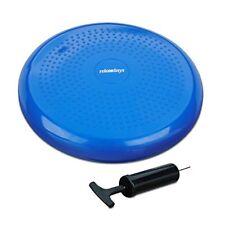 Relaxdays 10022526 45 Cuscino propriocettivo 33 cm Balance Pad con Pompa per ...