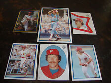 1983 Topps Baseball--Stickers--Lot Of 7--No Dupes--Schmidt, Rose, Carlton Only