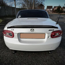 Mazda MX5 Mk3 Boot Spoiler Fibreglass Gel coat finish by CarbonMiata CM-TS2-NC-F