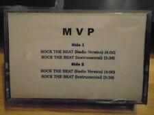 SEALED RARE PROMO MVP CASSETTE TAPE Rock the Beat hip hop 1990 instrumental RAP