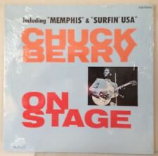 SEALED Chuck Berry 1982 On Stage/ Rockin' At The Hops 2xLP Germany Vinyl REISSUE