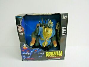 "1995 Trendmasters Godzilla Wars GIGAN 10""-Motional Activated- NIB"