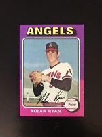 *** 1975 TOPPS #500 NOLAN RYAN HOF CAL ANGELS— PACK FRESH💥***