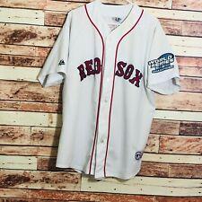 BOSTON RED SOX Jason Veritek Majestic Jersey 04 World Series Champions