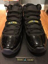 Nike Air Jordan XI Men 8.5 Gamma Blue Black Varsity Maize Jumpman Rare 2013