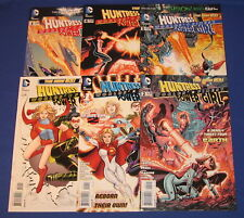 DC Worlds' Finest #1-5 0 Comic Book Set Huntress Power Girl Lot 2012 NM Perez