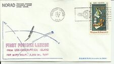 FIRST POSIDEN LAUNCH COLORADO SPRINGS, CO 12/16/69 #20 OF 55 MADE