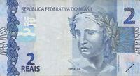 BRAZIL 2 Reais 2010 (2015) P-252  - Free to Combine Low Shipping