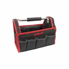 """HEAVY DUTY 13"""" 330MM TOOL BOX CHEST BAG STORAGE TOTE BAG CADDY HOLDALL CASE UK"""