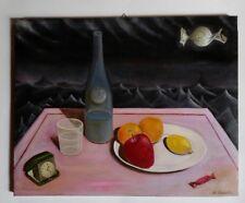 Quadro olio su tela Pop Surrealism, style Mark Ryden, Dalí, Magritte, Varo..