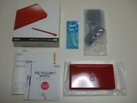 Nintendo DS Lite Nenga New Year Greeting Special Edition RED Handheld NDS
